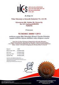 TS ISO/IEC 20000-1:2013