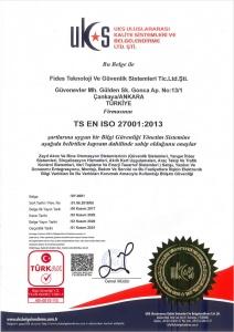 TS EN ISO 27001:2013